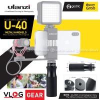 ULANZI U-40 Universal Metal Handle Vlogging Hand Grip for HP Camera