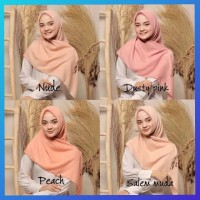 jilbab muslim wanita maxi hijab square waterproof kerudung salem muda