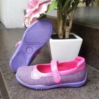 Sepatu Anak perempuan flat slip on Crackers tipe Elvina Ukuran 26 - 30
