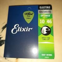 Elixir 19052 optiweb senar gitar electric 010