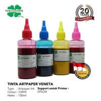 VENETA SYSTEM - ART PAPER INK FOR PRINT HEAD EPSON 100 ML