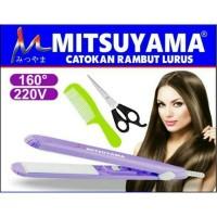 HT-Catokan Mini -Catokan Rambut Alat Catok Rambut+Sisir Mitsuyama 5009