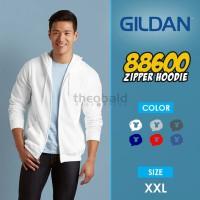 Gildan Jaket Zipper Original ( SIZE XXL )