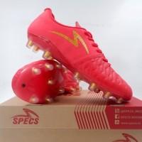 Sepatu Bola Specs Barricada Maestro Elite FG High Risk Red 101136 Ori
