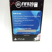 DLC PS4 FIFA 2020 ULTIMATE TEAM REDEM CODE REGION 3