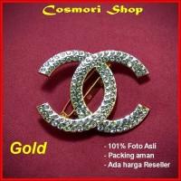 Bros Kebaya Kutu Baru Jilbab Bross Kutubaru Etnik Gold Silver Perak