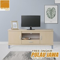 Kirana Rak TV / Audio/ Meja TV BF 827 WO - White Oak
