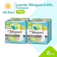 Laurier Super Slimguard Day 22.5cm 20S Twinpack