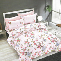 Osaka Set Sprei dan Bed Cover 83A sateen Jepang - Single Size
