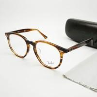 frame kacamata vintage classic 7151 hexagonal free lensa anti uv