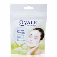 Ovale Facial Mask Bedak Dingin - Whitening