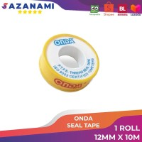 ONDA SEAL TAPE 12MM ISOLASI KERAN AIR SELOTIP PIPA KERAN AIR SOLASI