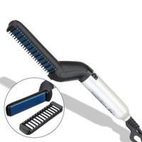 Sisir Pelurus Rambut Pria Multifungsi kerontokan rambut