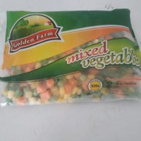 mixed vegetable golden farm 500 gram
