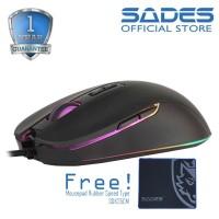 Sades Myth RGB Gaming Mouse