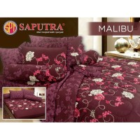 Saputra Bed Cover Set Queen Malibu / Bedcover 160x200