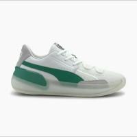 sepatu basket puma clyde hardwood white green193663 02 original bnib