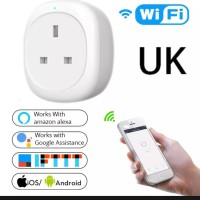 📳Smart Life UK Plug Wi-Fi Switch For AC & Elec Equipment