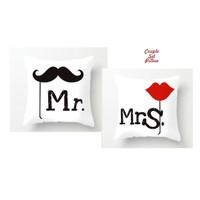 Couple Set Pillow MR & MRS, set bantal couple, isi sepasang bantal