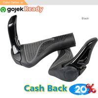 Grip Tanduk Stang Sepeda MTB / Handlebar Grip Sepeda Rubber Ergonomic