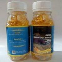 obat herbal khasiat ampuh kapsul minyak ikan salmon original isi 100