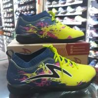 Sepatu Futsal Specs Cyanide TNT 19FS Zest Green/Galaxi Blue/Black