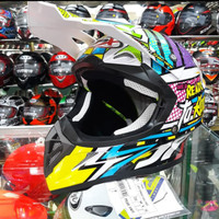 HELM JPX CROOS X10 READY TO ROCK PEAR WHITE