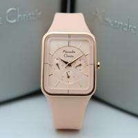 Jam Tangan Wanita Alexandre Christie AC 2744 peach Original
