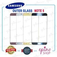 Samsung Note 5 Gorilla Glass - Kaca LCD - Outer Glass Original
