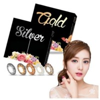 Softlens X2 Ice Exoticon Gold Silver / Ice Gold / Ice Silver ICY GRAY