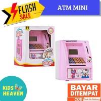 Kids Heaven - Mainan Edukatif / Edukasi Anak - Celengan ATM Bank uang - Biru