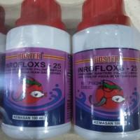 BOSTER Enro Enrofloxacin cair INROFLOXS 25 Antibiotik Ikan