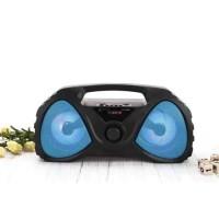 Deskripsi Bluetooth Speaker / Nirkabel Portable LED Wireless Senter De
