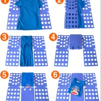alat melipat baju praktis tanpa setrika filpfold alat bantu setri