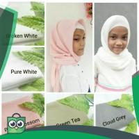 Hijab Jilbab Anak Segiempat Polos Murah