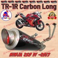 ProLiner NINJA 250 FI New TR-1R Carbon Long Knalpot Racing suku ca