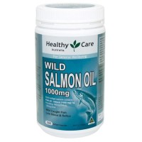 Healthy Care Best Quality Wild Salmon Oil 1000Mg - 500 Caps