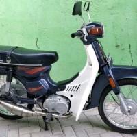 knalpot racing suzuki bravo rc100 tnx stenlis suara gurih limited s