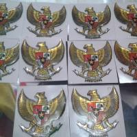 Sticker Burung Garuda 3D parts