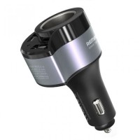 REMAX RCC218 - Car Charger with 2 USB Output 4.8A with Cigarette Plug