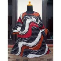 TUNIK/DRESS/OUTFIT/ATASAN WANITA BATIK STRECH ORY BIGSIZE/L4 MOTIF