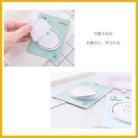 sticky notes bentuk yoha animal 20 isi lembar