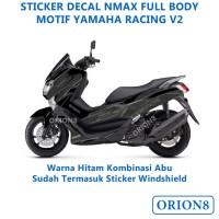 Sticker Motor Decal Full body Nmax Yamaha Racing V2