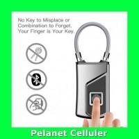 Gembok Koper Serbaguna Smart Fingerprint Padlock G3 Gray