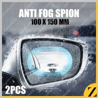 Stiker spion anti silau glare anti hujan kaca film pelindung 150 x100