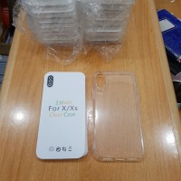 Silikon Jelly Case Bahan Tebal Bening Casing Iphone X Xs 5.8 Inch