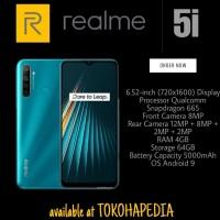 Realme 5i 4/64 Ram 4GB Internal 64GB Garansi Resmi
