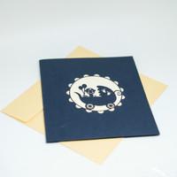 BARU! KARTU UCAPAN 3D UNTUK BABY SHOWER BAYI LAHIRAN GREETING CARD