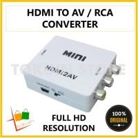 Converter HDMI to AV RCA Konektor Adapter Mini Konverter HDMI ke RCA
