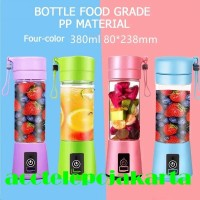 Juice cup blender mini portable/USB blender juicer/Alat pembuat jus - 4 blade